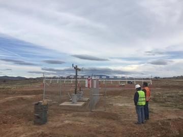 Concluye la instalación de ILS/DME en Alcantarí
