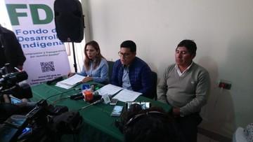 Fondo Indígena investigará legalidad de proyecto de Sucre