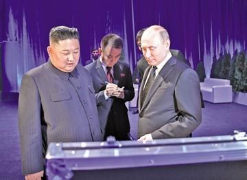 Putin apoya a Kim en su pulso sobre plan de desnuclearización