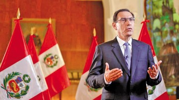 """El """"fujimorismo"""" prepara la  destitución de Vizcarra"""