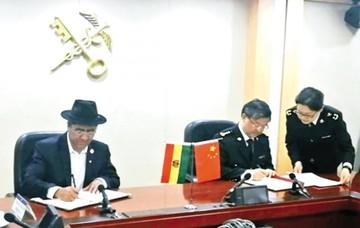 Bolivia sella pacto para exportar carne a China