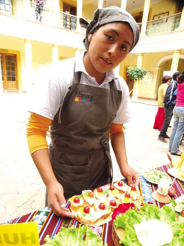 Escuela Manq'a abre restaurante  y ofrece almuerzo