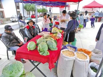 Unos 40 productores del agro ofertaron  alimentos orgánicos