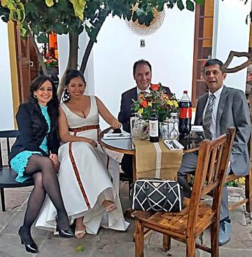 Matrimonio Claudia y Cédric