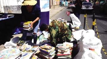 Recolectan 140 mil libros para bibliotecas comunitarias en el país