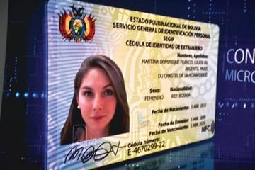 Rige la cédula de identidad electrónica para extranjeros