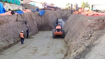 Paran obras en Tintamayu debido a sueldos impagos