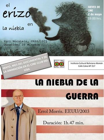 Animación y documentales en Jueves de Cine del ICBA