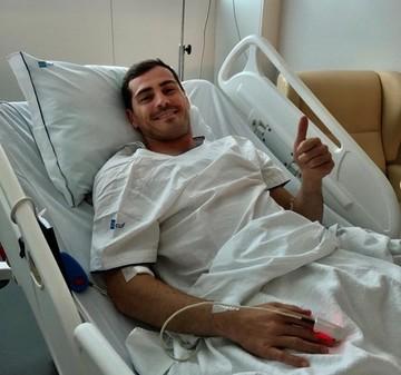 """Casillas: """"Un susto grande pero con las fuerzas intactas"""""""