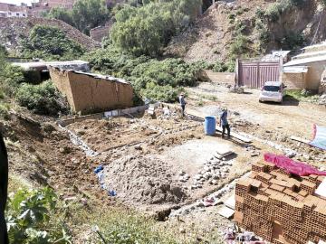 Los asentamientos ilegales  inquietan a vecinos del D-2