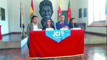 JCI lanza los TOYP 2019 con sede en Sucre