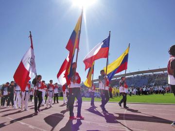 Lanzan los Juegos Bolivarianos con tareas pendientes