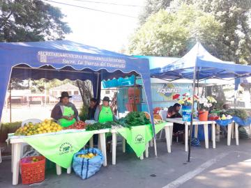 Feria de Mercados Verdes reúne a productores
