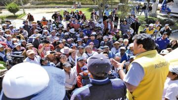 Demolerán 22 casas tras deslizamientos en La Paz