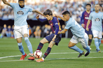 """El Barça """"B"""" pierde en Vigo"""