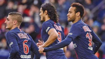 Francia: Neymar rescata al  PSG de otra derrota