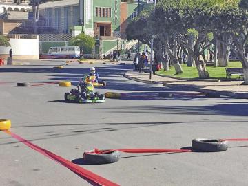 Karting, sólo departamental