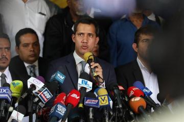 Guaidó: Asamblea Nacional podría aprobar una intervención de EEUU