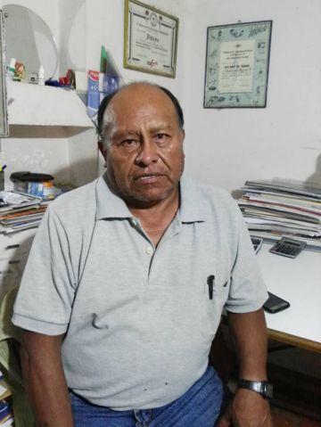 Guillermo Berrios, un arquitecto con  48 años al servicio de la construcción