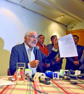 Mesa defraudó impuestos, concluyen en el oficialismo