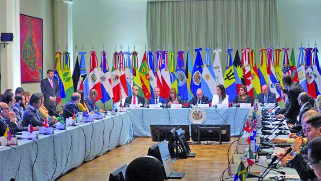 OEA estudia estrategias de lucha contra las drogas