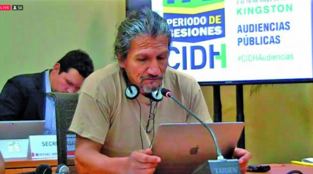 Denuncian ante la CIDH al Gobierno