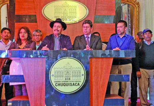 Chuquisaca emprende  camino al Bicentenario