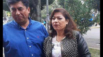 Ceballos pidió suspensión de audiencia pero juez la confirmó para esta tarde