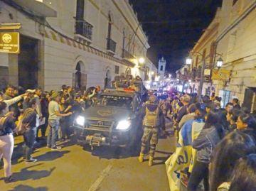 Jornada electoral de la FUL concluye con disturbios