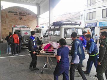 Dos heridos en una colisión en carretera