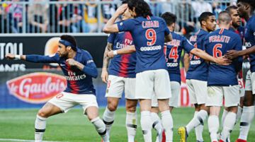 PSG gana con Neymar