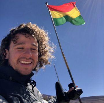 Luisito, el famoso youtuber mexicano, llega a Bolivia