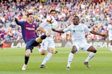 El Barça se redime de Anfield ante el Getafe