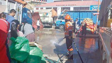 Arranca campaña de limpieza en mercados