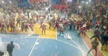 En el MAS dicen que son normales las peleas en congresos