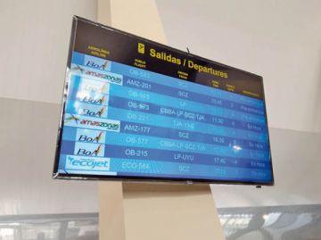 BoA aclara sobre dos vuelos cancelados