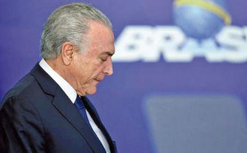 Tribunal revoca detención de expresidente de Brasil
