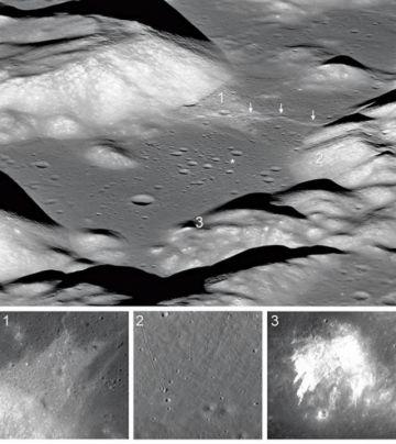 La luna se achica y tiene arrugas,  según un estudio