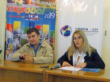 La ExpoBol-USA se abre  a firmas chuquisaqueñas