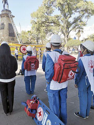 La Cruz Roja cumple 102 años en Bolivia
