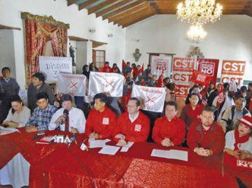 Bolivia dice No consolida otra alianza
