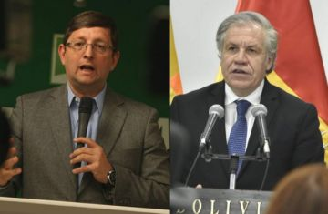 Ortiz planta a Almagro en protesta por su apoyo a Evo Morales