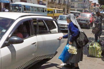 Taxis reprueban examen  de calidad en un estudio