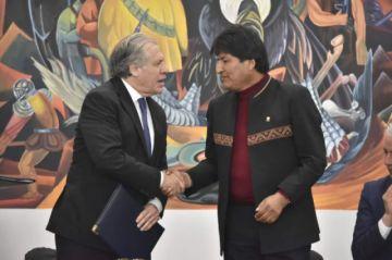"""Elecciones: Almagro señala que no dejar participar a Evo sería """"discriminatorio"""""""