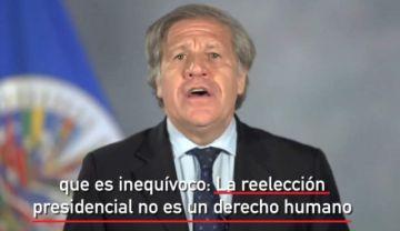 Respaldo de Almagro a la repostulación de Evo contradice su defensa del 21F en 2017 y 2018
