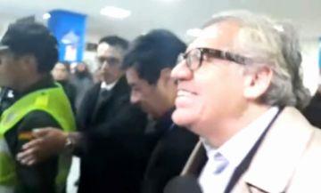Luis Almagro llega al país en medio de fuerte control policial y militar