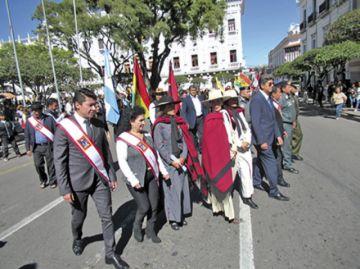Esposos Azurduy-Padilla, homenajeados en Sucre