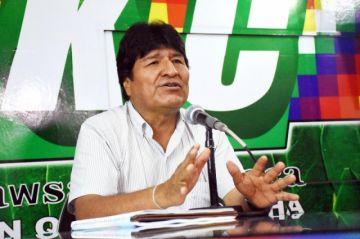 Almagro se quejó sobre agresiones de la oposición, según Evo Morales