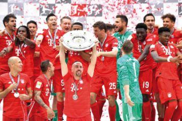Bayern, séptima al hilo