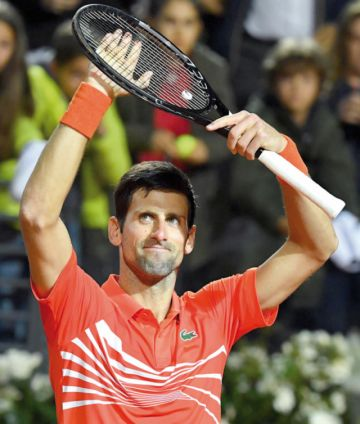 Djokovic y Nadal, finalistas